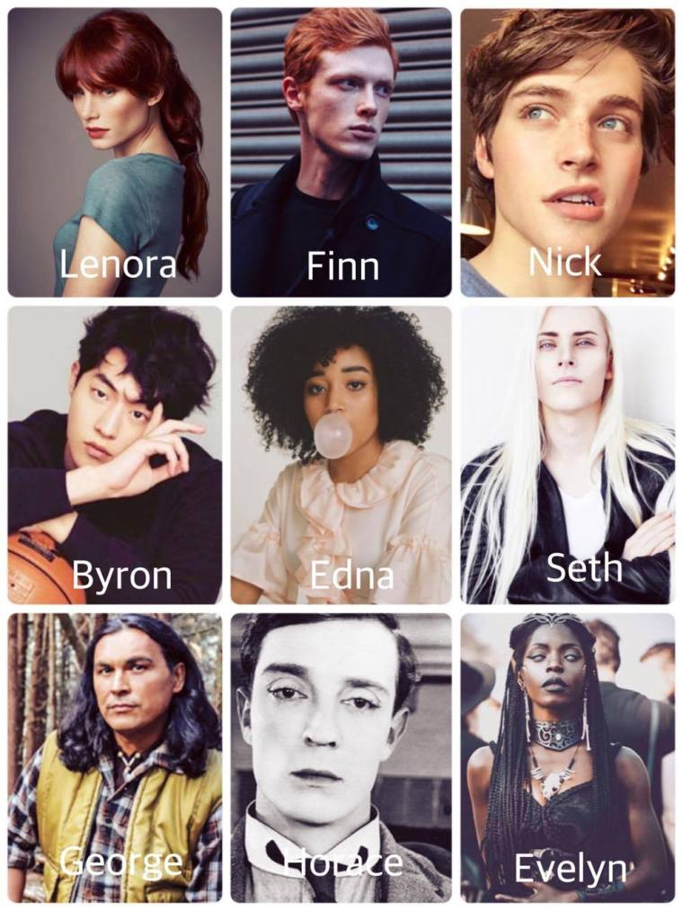 The Winterborn Cast
